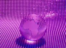 Глобус с высокой технологией стоковые изображения