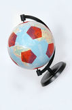 глобус футбола Стоковая Фотография RF