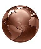 Глобус шоколада Стоковое Фото