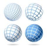 глобус элементов конструкции Стоковое Фото