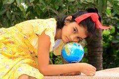глобус я моя школа Стоковое Изображение