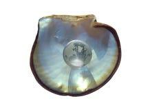 глобус 2 кристаллов Стоковая Фотография