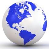глобус 3d Стоковое Фото