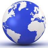 глобус 3d Стоковое Изображение