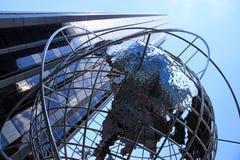 глобус columbus круга Стоковые Изображения RF