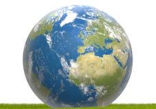 Глобус 3D-illustration земли Элементы этого изображения поставленные мимо Стоковые Изображения