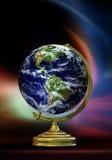 глобус eartn реальный стоковые фотографии rf