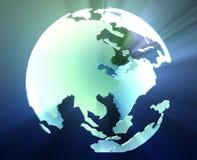 глобус pacific Азии бесплатная иллюстрация