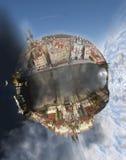 глобус prague Стоковая Фотография
