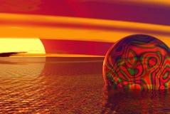 глобус trippy Стоковое Фото