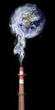гловальное загрязнение Стоковое Изображение RF