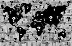 гловальное кризиса финансовохозяйственное Стоковая Фотография RF