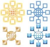 гловальные узлы Стоковые Фотографии RF
