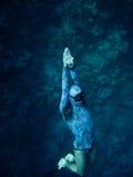 глубина поднимая вверх Стоковое Изображение
