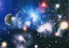 глубокая спираль космоса галактики Элементы этого изображения поставленные NASA стоковое изображение