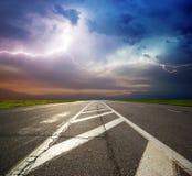 глубокая дорога Стоковые Фотографии RF