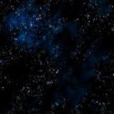глубокие звезды космического пространства Стоковое Изображение