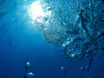Глубокий воздух, взгляд от глубины Стоковое фото RF