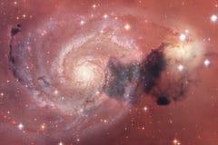 Глубокий космос красоты Идеал фантазии научной фантастики для обоев стоковая фотография