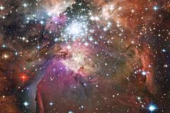 Глубокий космос красоты Идеал фантазии научной фантастики для обоев стоковое изображение