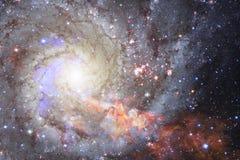 Глубокий космос красоты Идеал фантазии научной фантастики для обоев стоковые фотографии rf