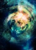 глубокий космос места Стоковое фото RF
