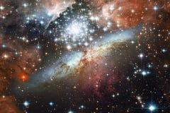 Глубокий космос Фантазия научной фантастики в высоком разрешении идеальном для обоев Элементы этого изображения поставленные NASA стоковое фото rf