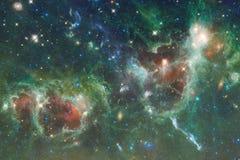 Глубокий космос Фантазия научной фантастики в высоком разрешении идеальном для обоев стоковое изображение