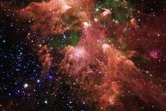 Глубокий космос Фантазия научной фантастики в высоком разрешении идеальном для обоев стоковое изображение rf