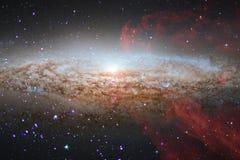 Глубокий космос Фантазия научной фантастики в высоком разрешении идеальном для обоев стоковая фотография