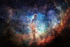 Глубокий космос Фантазия научной фантастики в высоком разрешении идеальном для обоев стоковые фотографии rf