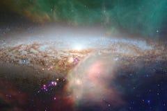 Глубокий космос Фантазия научной фантастики в высоком разрешении идеальном для обоев стоковые изображения