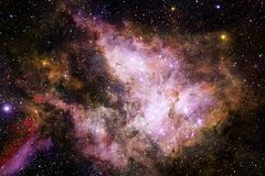 Глубокий космос Фантазия научной фантастики в высоком разрешении идеальном для обоев иллюстрация штока