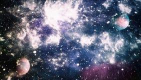 Глубокий космос Фантазия научной фантастики в высоком разрешении идеальном для обоев r иллюстрация вектора