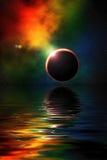 глубокий космос Стоковое Изображение
