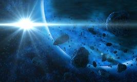 глубокий космос Стоковое фото RF