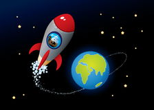 глубокий космос Стоковые Изображения RF