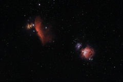 глубокий космос nebula Стоковые Изображения RF