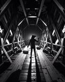 глубокий тоннель Стоковые Изображения
