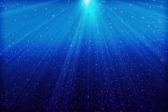 Глубокое голубое море стоковые изображения rf