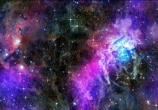 глубокое космическое пространство Стоковое Изображение RF