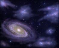 глубокое небо Бесплатная Иллюстрация
