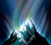 глубоко - гора замораживания Стоковые Фото