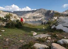 глушь hiker Стоковая Фотография RF