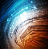 глянцеватое абстрактной предпосылки темное Стоковая Фотография RF