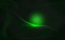 глянцеватое предпосылки зеленое Стоковые Изображения