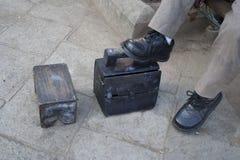 глянцеватые ботинки Стоковое Изображение RF