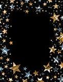 глянцеватые звезды иллюстрация вектора