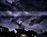 Гнать молнию Стоковые Фото