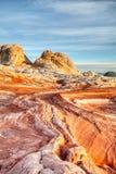 Гнать солнце в белой карманной Аризоне стоковые фото